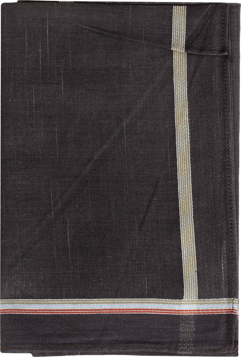Платок носовой мужской Zlata Korunka, цвет: темно-коричневый. 45480. Размер 40 см х 40 см39864|Серьги с подвескамиМужской носовой платок Zlata Korunka, изготовленный из хлопка с добавлением полиэстера, приятен в использовании и хорошо стирается. Материал не садится и отлично впитывает влагу. Модель оформлена по краям контрастными полосками.
