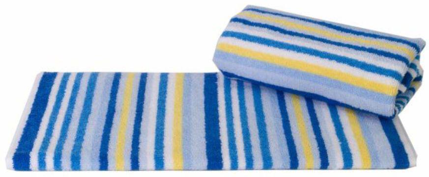 Полотенце Hobby Home Collection Cizgi, цвет: белый, голубой, желтый, 40 х 80 смLISBOA 11399/5C CHROME, OAKПолотенце Hobby Home Collection Cizgi выполнено из 100% хлопка. Изделие отлично впитывает влагу, быстро сохнет, сохраняет яркость цвета и не теряет форму даже после многократных стирок. Такое полотенце очень практично и неприхотливо в уходе. А простой, но стильный дизайн полотенца позволит ему вписаться даже в классический интерьер ванной комнаты.