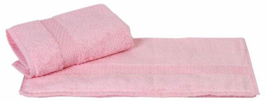 Полотенце Hobby Home Collection Firuze, цвет: розовый, 70 х 140 см68/5/1Полотенце Hobby Home Collection Firuze выполнено из 100% хлопка. Изделие отлично впитывает влагу, быстро сохнет, сохраняет яркость цвета и не теряет форму даже после многократных стирок. Такое полотенце очень практично и неприхотливо в уходе. А простой, но стильный дизайн полотенца позволит ему вписаться даже в классический интерьер ванной комнаты.