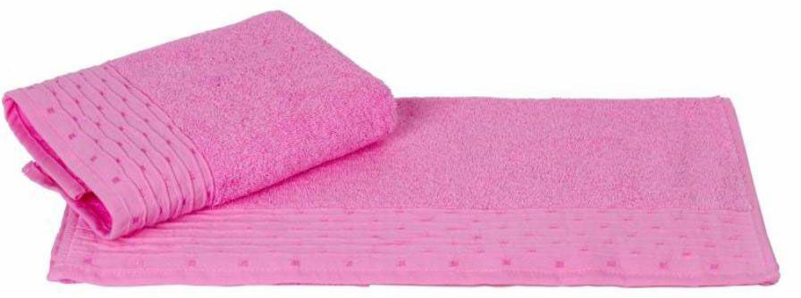Полотенце Hobby Home Collection Gofre, цвет: розовый, 70 х 140 см531-105Полотенце Hobby Home Collection Gofre выполнено из 100% хлопка. Изделие отлично впитывает влагу, быстро сохнет, сохраняет яркость цвета и не теряет форму даже после многократных стирок. Такое полотенце очень практично и неприхотливо в уходе. А простой, но стильный дизайн полотенца позволит ему вписаться даже в классический интерьер ванной комнаты.