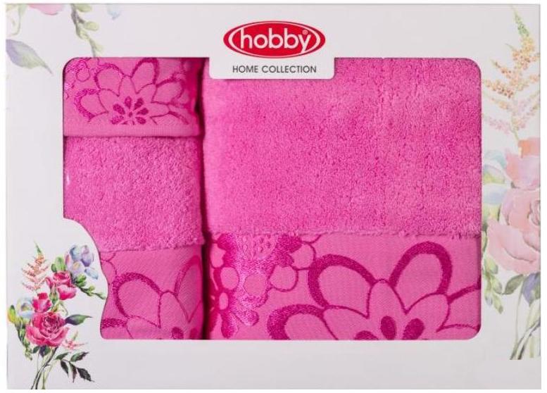 Набор полотенец Hobby Home Collection Dora, цвет: розовый, 3 штC0042416Набор Hobby Home Collection Dora состоит из трех махровых полотенец, выполненных из натурального 100% хлопка. Изделия мягкие, отлично впитывают влагу, быстро сохнут, сохраняют яркость цвета и не теряют форму даже после многократных стирок. Полотенца Hobby Home Collection Dora очень практичны и неприхотливы в уходе. Они легко впишутся в любой интерьер благодаря своей нежной цветовой гамме.