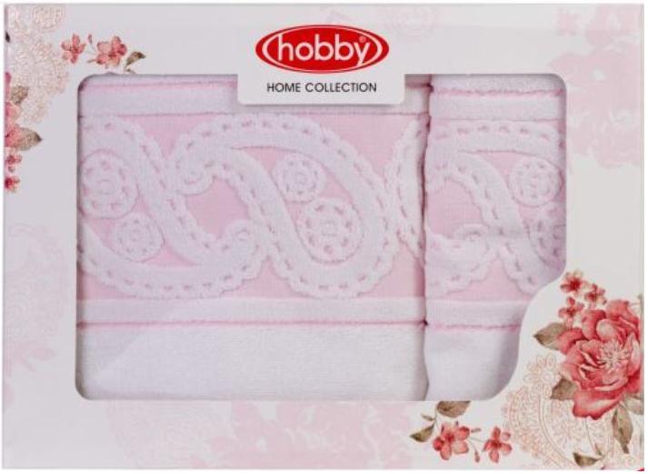 Набор полотенец Hobby Home Collection Hurrem, цвет: белый, 2 шт68/5/3Набор Hobby Home Collection Hurrem состоит из двух махровых полотенец, выполненных из натурального 100% хлопка. Изделия мягкие, отлично впитывают влагу, быстро сохнут, сохраняют яркость цвета и не теряют форму даже после многократных стирок. Полотенца Hobby Home Collection Hurrem очень практичны и неприхотливы в уходе. Они легко впишутся в любой интерьер благодаря своей нежной цветовой гамме.Размер полотенец: 50 х 90 см; 70 х 140 см.