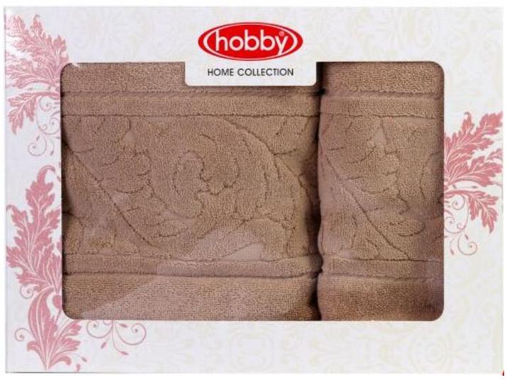 Полотенце махровое Hobby Home Collection Sultan, цвет: бежевый, 50х90 см, 70х140 см, 2 шт391602Полотенца марки Хобби уникальны и разрабатываются эксклюзивно для данной марки. При создании коллекции используются самые высокотехнологичные ткацкие приемы. Дизайнеры марки украшают вещи изысканным декором. Коллекция линии соответствует актуальным тенденциям, диктуемым мировыми подиумами и модой в области домашнего текстиля.