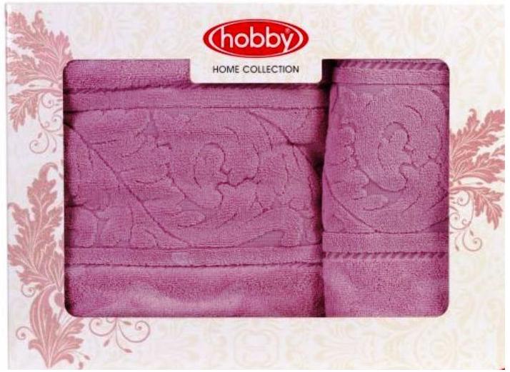 Набор полотенец Hobby Home Collection Sultan, цвет: розовый, 2 шт68/5/4Набор Hobby Home Collection Sultan состоит из двух махровых полотенец, выполненных из натурального 100% хлопка. Изделия мягкие, отлично впитывают влагу, быстро сохнут, сохраняют яркость цвета и не теряют форму даже после многократных стирок. Полотенца Hobby Home Collection Sultan очень практичны и неприхотливы в уходе. Они легко впишутся в любой интерьер благодаря своей нежной цветовой гамме.Размер полотенец: 50 х 90 см; 70 х 140 см.