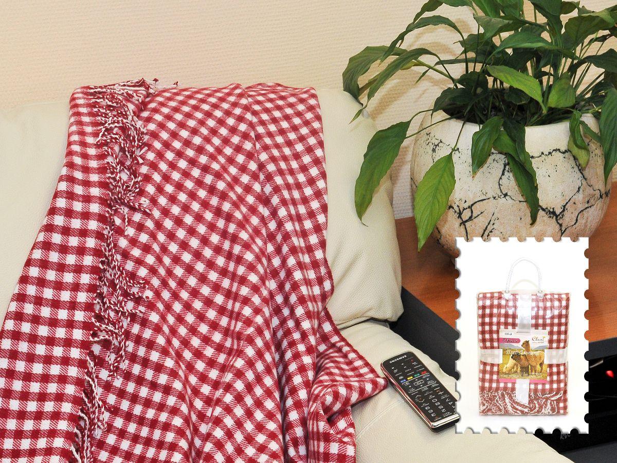 """Плед Cleo Каминный, цвет: красный, 140 х 180 смCLP446Коллекция пледов Cleo Альпака – стильный дизайн и согревающая нега прикосновения! Пледы сделаны из инновационного материала - ПолиАкрила. ПолиАкрил- это уникальный инновационный материал, мягкий и легкий, по внешнему виду и на ощупь напоминает шерсть Альпака. Часто его называют """"искусственной шерстью"""". ПолиАкрил - хорошо сохраняет тепло, износоустойчив, не теряет свой формы и цвета долгое время. Коллекция пледов Cleo Альпака – стильные дизайны, невероятно теплые, компактные пледы, составят вам компанию в путешествии, дома и на даче в холодные вечера, вам захочется достать этот плед и укутаться в нем, чтобы ощутить нежность его прикосновения. Пледы CLEO Альпака станут вашим лучшими спутниками, и именно они будут хранить тепло и самые положительные эмоции!"""