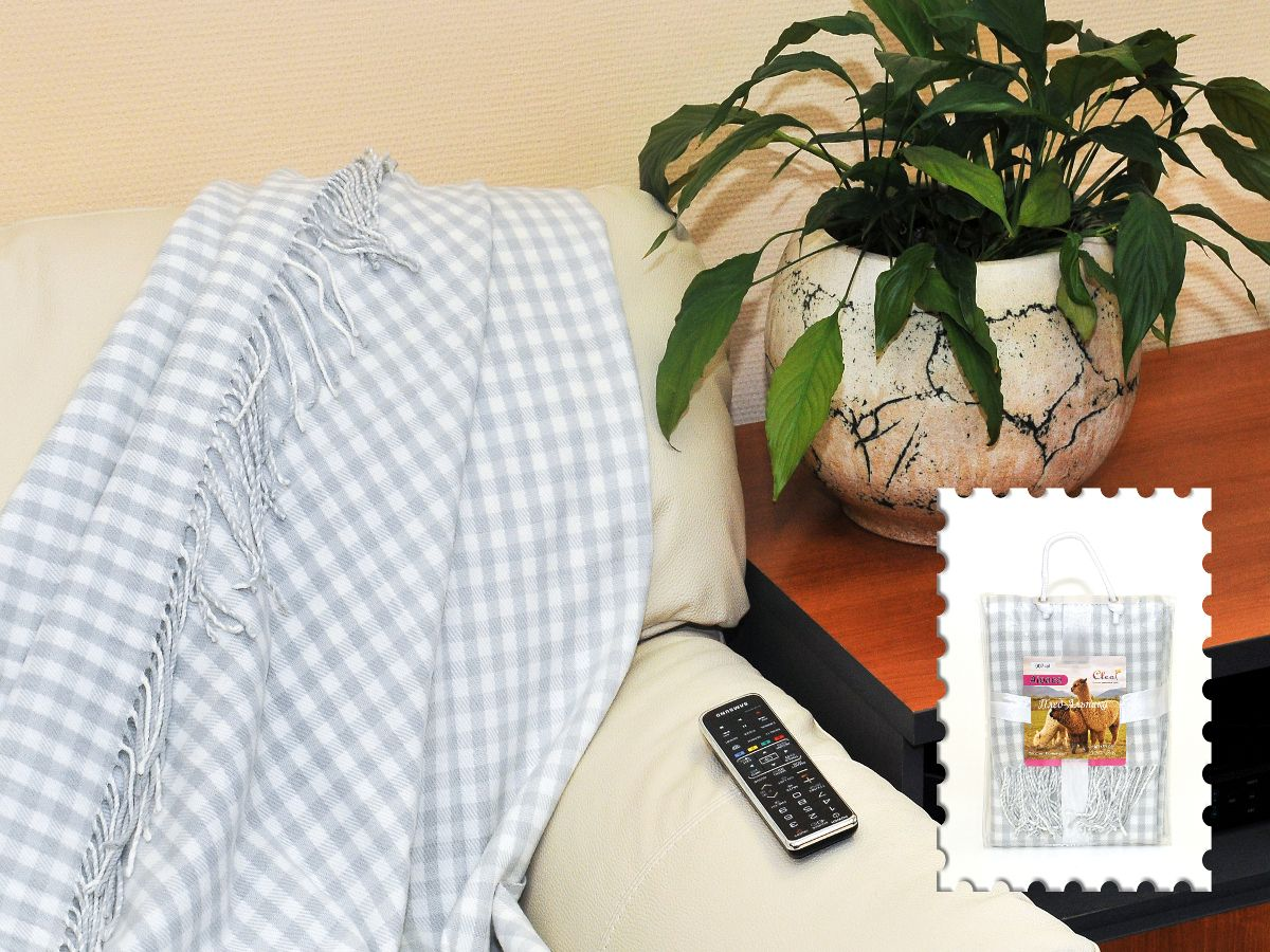 Плед Cleo Каминный, цвет: серый, 140 х 180 смS03301004Коллекция пледов Cleo – стильный дизайн и согревающая нега прикосновения! Пледы сделаны из инновационного материала - полиакрила. Полиакрил - это уникальный инновационный материал, мягкий и легкий, по внешнему виду и на ощупь напоминает шерсть.