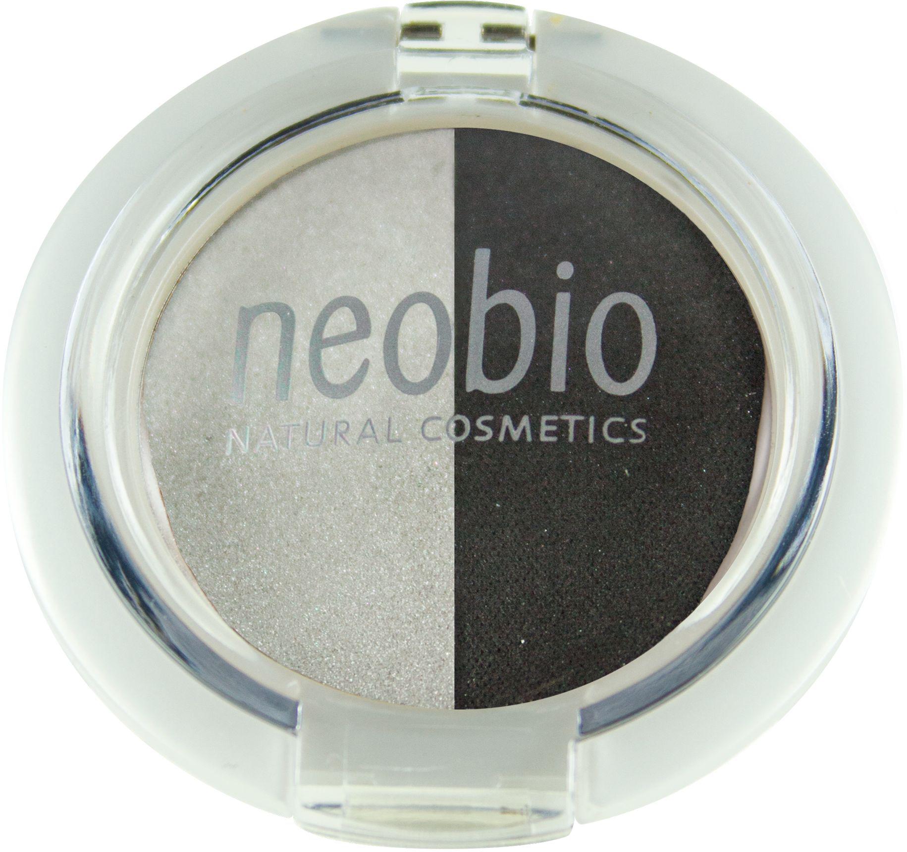 Neobio Двойные тени для век, тон № 03 (туманная ночь), 2,5 г1092018Тени для век Neobio имеют мягкую матовую текстуру, легко наносятся, не скатываются и не осыпаются, держатся в течение дня. В результате нанесения получается элегантный макияж глаз и в тоже время надежный уход и защита за Вашей кожей. Тени Neobio подходят для чувствительных глаз, а также при ношении контактных линз. Тени содержат безвредные деликатные красящие пигменты, одобренные международной сертификацией NATRUE. Входящие в состав органическое масло макадамии, органическое масло клещевины и витамин Е благотворно влияют на кожу век, увлажняют ее и смягчают. Слюда оказывает противовоспалительный эффект, поглощает излишки жира и матирует.Двойные тени для век туманная ночь идеальный помощник в создании макияжа Smoky eyes.Натуральность продукта подтверждена международным сертификатом NATRUE. Продукт прошел дерматологический контроль.