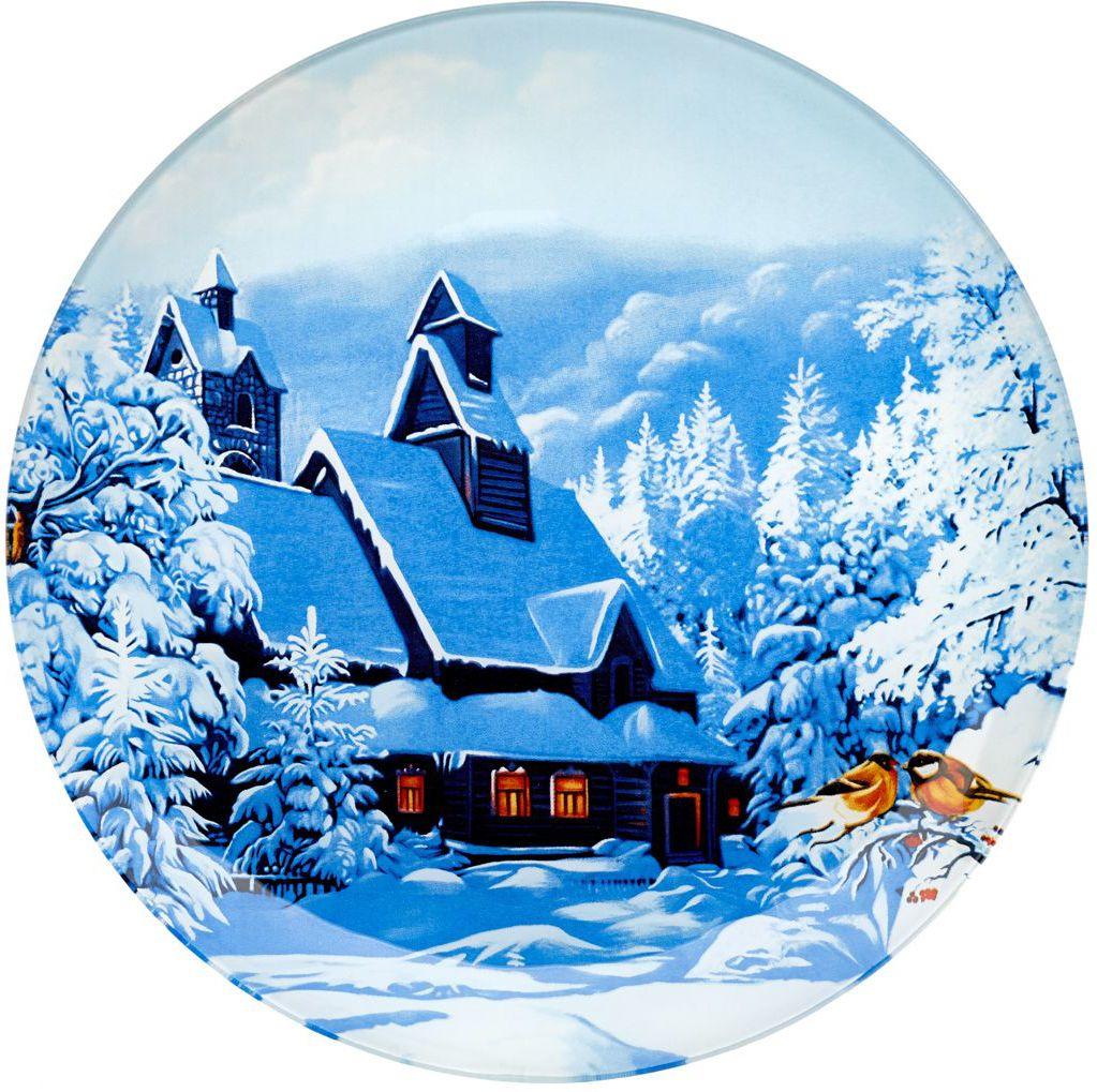 Блюдо Walmer Winter Time, диаметр 20 смW22012020Сервировочное блюдо Walmer Winter Time с изображением зимнего пейзажа изготовлено из стекла. Блюдо отлично подойдет для сервировки различных блюд, например, сладостей или закусок. Интересная подача в таком необычном блюде порадует детей и ваших гостей.