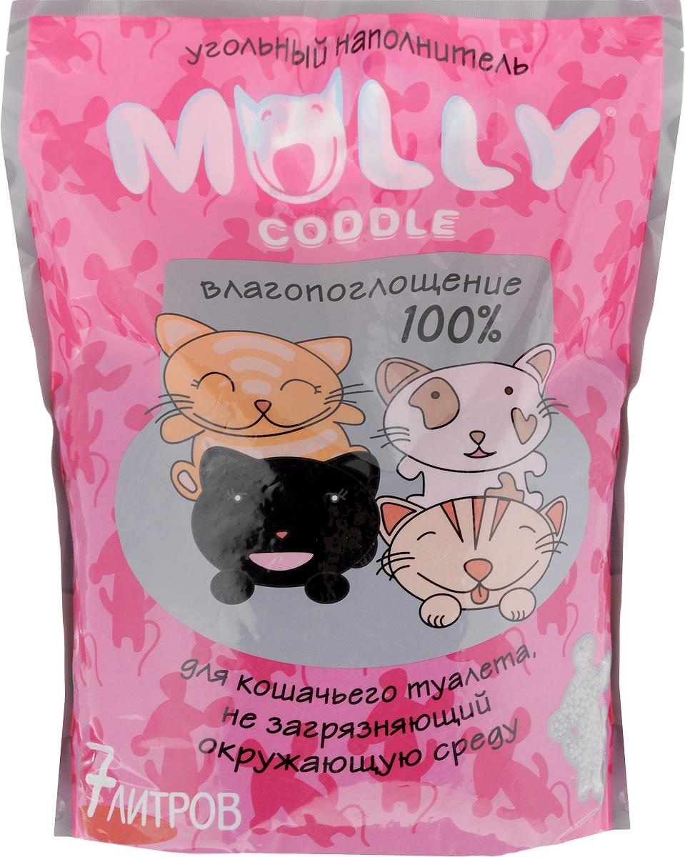 Наполнитель для кошачьего туалета  Molly coddle , угольный, 7 л - Наполнители и туалетные принадлежности