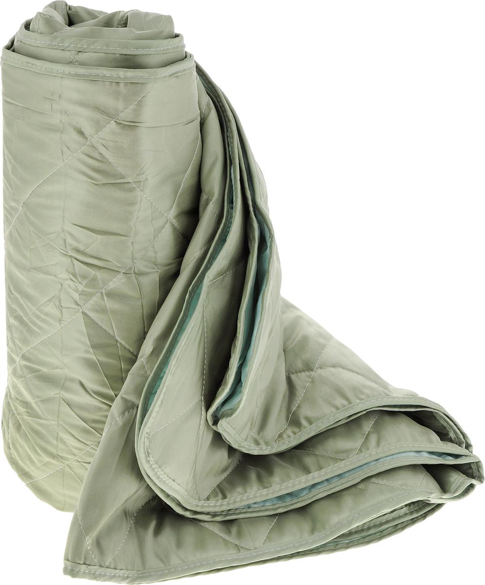 Покрывало Guten Morgen, цвет: светлый малахит, 180 х 200 см. ПТм-180-200RC-100BWCИзящное стеганное покрывало Guten Morgen выполнено из тафты (100% полиэстер), гармонично впишется в интерьер вашего дома и создаст атмосферу уюта и комфорта. Такое покрывало согреет в прохладную погоду и будет превосходно дополнять интерьер вашей спальни. Высочайшее качество материала гарантирует безопасность не только взрослых, но и самых маленьких членов семьи.Покрывало может подчеркнуть любой стиль интерьера, задать ему нужный тон - от игривого до ностальгического. Покрывало - это такой подарок, который будет всегда актуален, особенно для ваших родных и близких, ведь вы дарите им частичку своего тепла!