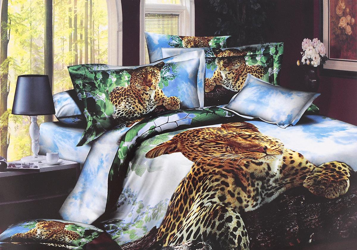 Комплект белья Mango Арни, 2-спальный, наволочки 70х70FD-59Комплект постельного белья Mango Арни является экологически безопасным для всей семьи, так как выполнен из 100% хлопка. Комплект состоит из пододеяльника, простыни и двух наволочек. Наволочки застегиваются на молнию. Постельное белье оформлено оригинальным рисунком и имеет изысканный внешний вид.Легкая, плотная, мягкая ткань отлично стирается, гладится, быстро сохнет. Рекомендуется стирка в прохладной воде при температуре не выше 40°С.