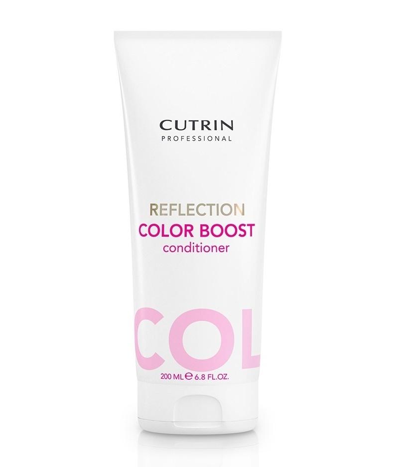 Cutrin Reflection Color Care Conditioner Кондиционер для поддержания цвета окрашенных волос, 200 млMP59.4DКондиционер серии Reflection Color Care финского бренда Cutrin. Обеспечивает бережное очищение окрашенных волос. Придает естественное сияние и ухоженный свежий вид волосам, поддерживает правильный гидробаланс. Содержит инновационные UV-фильтры и природные экстракты. Имеет приятный фруктовый аромат.