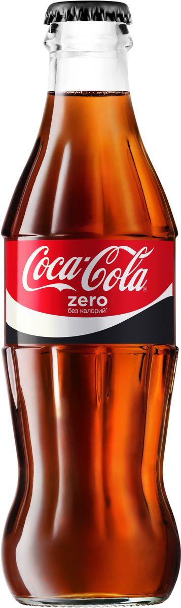 Coca-Cola Zero напиток сильногазированный, 0,25 л0120710Coca-Cola Zero - освежающий вкус без калорий!