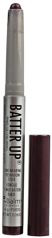 theBalm BatterUp Устойчивые кремовые тени-стик, Slugger, 1,6 г34788818203BatterUp это 8 великолепных оттенков теней от The Balm, выполненных в форме стика для легкого создания самых ярких smoky eyes.Высокопигментированная кремовая текстура теней ложится плотным слоем и легко растушевывается по коже век с помощью кисти, позволяя добиться нужной интенсивности оттенка.Удобная форма и оптимальная величина стика позволяет без труда наносить тени как на верхнее, так и на нижнее веко, что делает процесс создания smoky eyes значительно быстрее, а главное аккуратнее (больше не нужно удалять осыпающиеся тени и заново наносить консилер после макияжа глаз!).