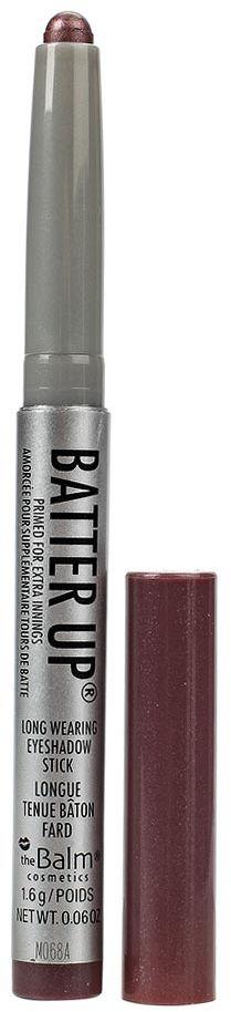 theBalm BatterUp Устойчивые кремовые тени-стик, Pinch Hitter, 1,6 г105100000BatterUp это 8 великолепных оттенков теней от The Balm, выполненных в форме стика для легкого создания самых ярких smoky eyes.Высокопигментированная кремовая текстура теней ложится плотным слоем и легко растушевывается по коже век с помощью кисти, позволяя добиться нужной интенсивности оттенка.Удобная форма и оптимальная величина стика позволяет без труда наносить тени как на верхнее, так и на нижнее веко, что делает процесс создания smoky eyes значительно быстрее, а главное аккуратнее (больше не нужно удалять осыпающиеся тени и заново наносить консилер после макияжа глаз!).
