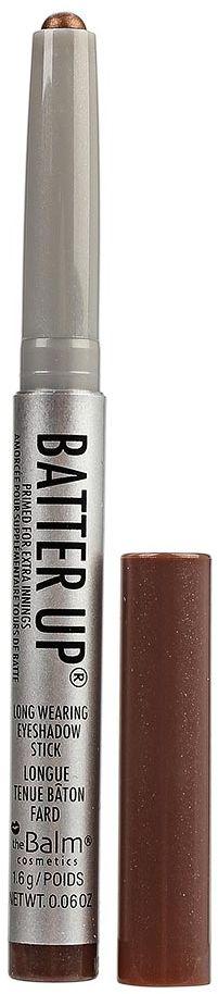 theBalm BatterUp Устойчивые кремовые тени-стик, Dugout, 1,6 г34788436010BatterUp это 8 великолепных оттенков теней от The Balm, выполненных в форме стика для легкого создания самых ярких smoky eyes.Высокопигментированная кремовая текстура теней ложится плотным слоем и легко растушевывается по коже век с помощью кисти, позволяя добиться нужной интенсивности оттенка.Удобная форма и оптимальная величина стика позволяет без труда наносить тени как на верхнее, так и на нижнее веко, что делает процесс создания smoky eyes значительно быстрее, а главное аккуратнее (больше не нужно удалять осыпающиеся тени и заново наносить консилер после макияжа глаз!).