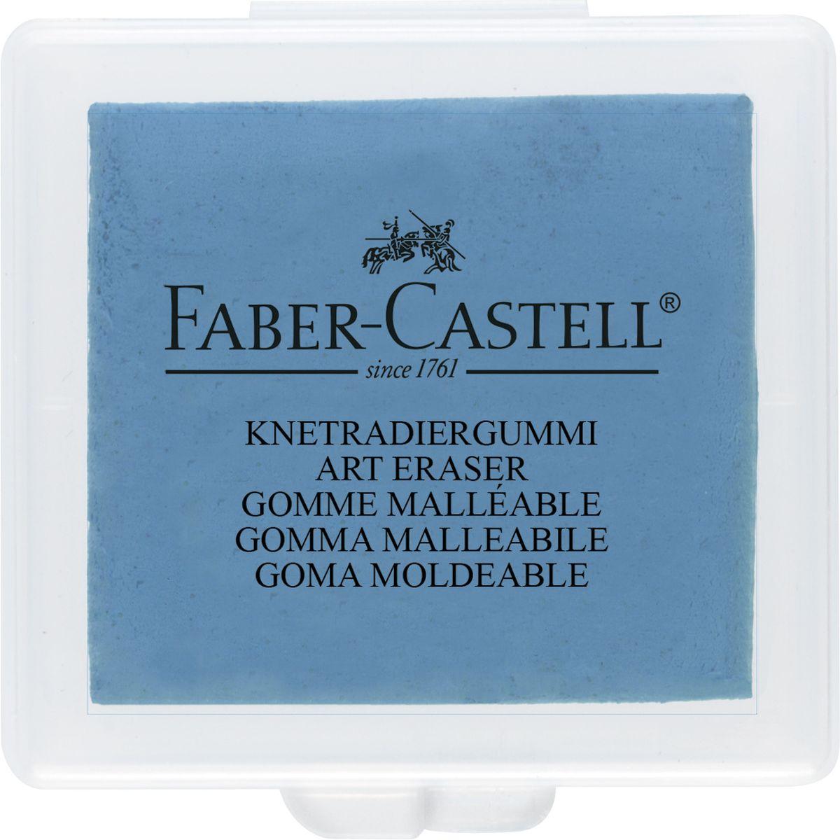 Faber-Castell Художественный ластик цвет голубой72523WDЛастик Faber-Castell пригодится любому художнику. Аккуратный ластик не оставляет грязных разводов. Ластик Faber-Castell служит для коррекции и осветления рисунков, созданных мягкими карандашами, углем или пастелью. Ластик дополнительно служит для очистки фотопленок.