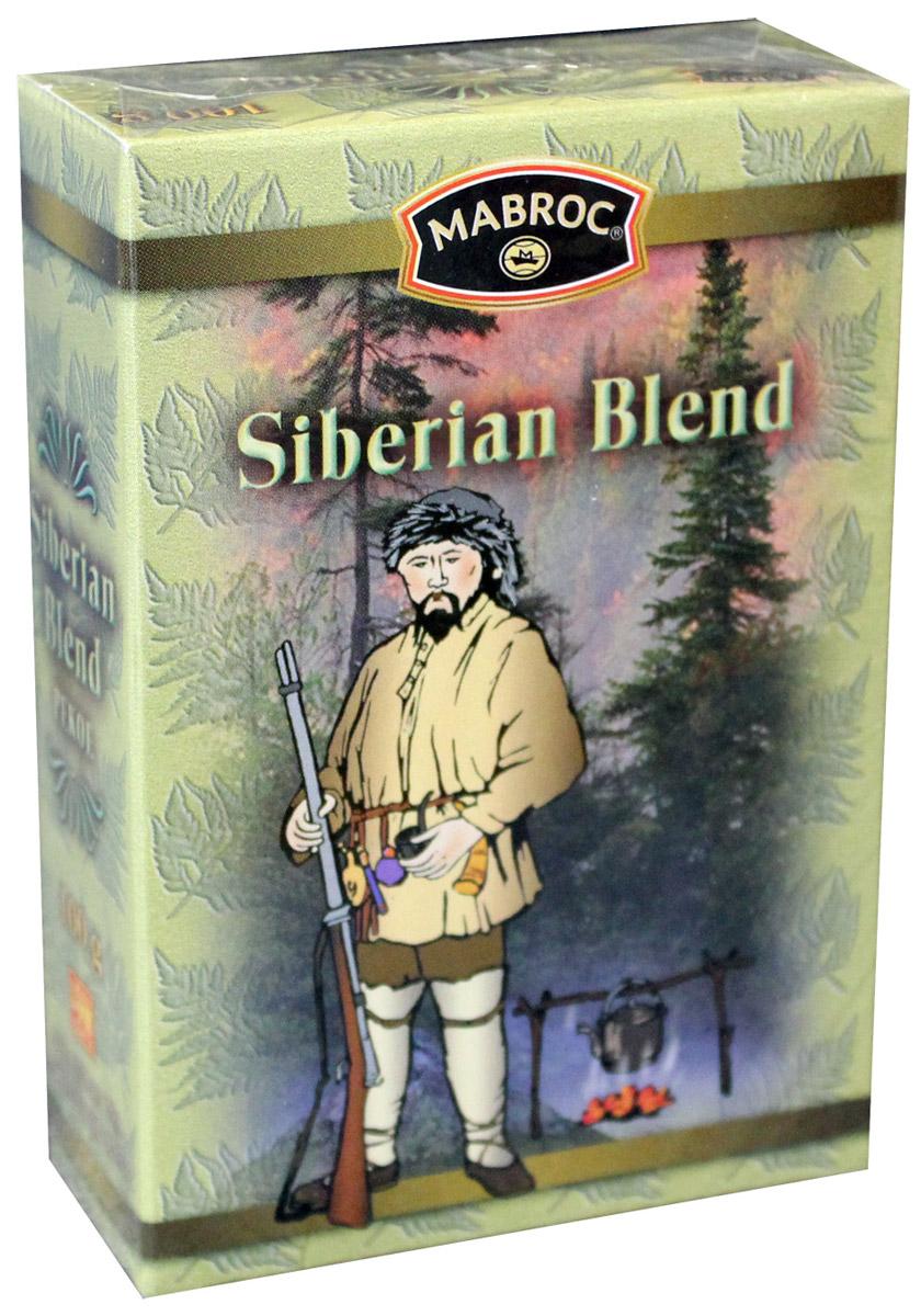 Mabroc Древние легенды. Сибирская смесь чай черный листовой, 100 г4791029061481Коллекция Древние легенды является визитной карточкой Маброк и включает в себя наиболее престижные, известные и дорогие сорта. Это удивительный ассортимент чаев с плантаций Маброк, со вкусом, одновременно подходящим для сибирского климата и передающий изысканный вкус Востока.Цейлонский черный байховый чай. Сибирская смесь производится из особых скрученных листьев чая, выращенного в восточном районе Шри-Ланки. Как только чай заварен, лист приобретает яркий медный цвет, что указывает на высокое качество чая. Этот купаж отличается высокой крепостью и пользуется особым спросом у любителей по настоящему крепких чаев.
