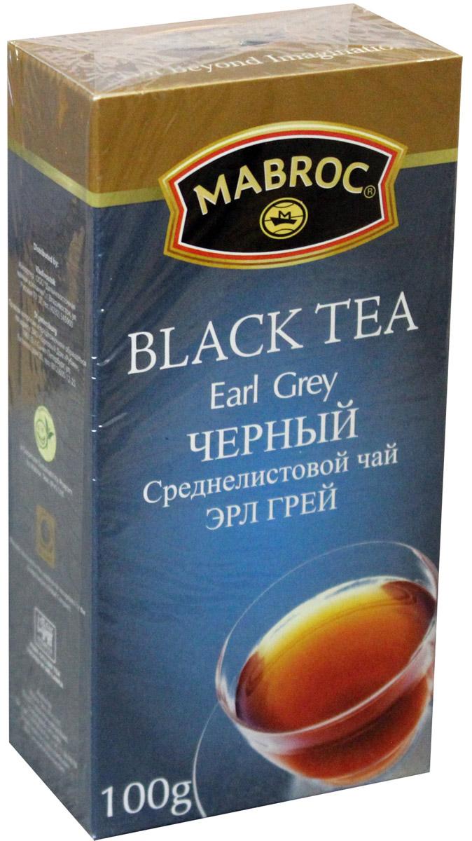 Mabroc Эрл Грей чай черный листовой, 100 г101246Оцените пикантный оттенок цитрусовых во вкусе черного чая Mabroc Эрл Грей.