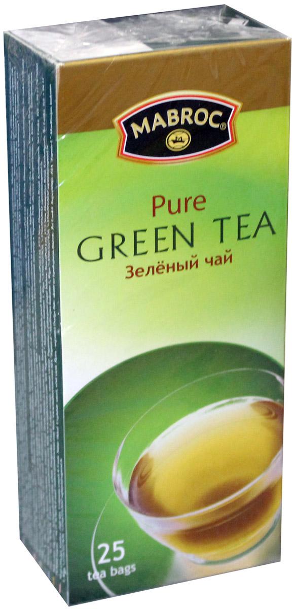 Mabroc Премиум классик чай зеленый в пакетиках, 25 шт фруктовая линия ассорти зеленый чай в пакетиках 25 шт