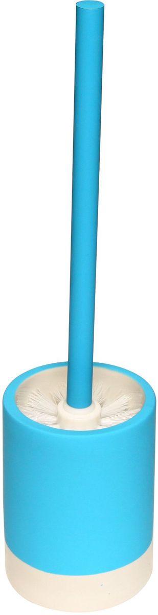 Ершик для унитаза Proffi Home, с чашей, цвет: голубойBL505Ершик Proffi Home в комплекте с подставкой - оптимальный выбор. Он всегда у вас под рукой и вы решаете проблему хранения ершика. Этот комплект выполнен из керамики и отличается устойчивостью и простотой в уходе. Керамика выгодно отличается от других материалов в первую очередь натуральностью и благородным внешним видом. Этот материал устойчив к перепадам температур, повышенной влажности и бытовым химическим средствам. Каучуковое покрытие обеспечивает антискользящий эффект.Возможность съемного чистящего элемента. Когда щетка придет в негодность, вам нужно будет купить только ее. Благодаря лаконичной форме такой аксессуар отлично впишется в любой интерьер ванной комнаты и станет ее украшением. Материал: керамика, каучук .Высота: 33,5 см.
