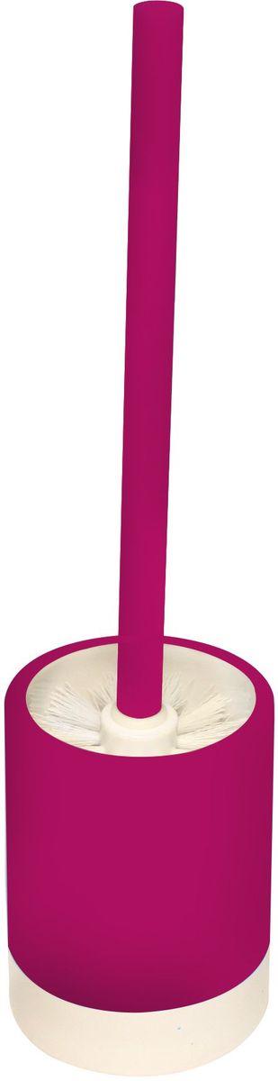 Ершик для унитаза Proffi Home, с чашей, цвет: красныйES-412Ершик Proffi Home в комплекте с подставкой - оптимальный выбор. Он всегда у вас под рукой и вы решаете проблему хранения ершика. Этот комплект выполнен из керамики и отличается устойчивостью и простотой в уходе. Керамика выгодно отличается от других материалов в первую очередь натуральностью и благородным внешним видом. Этот материал устойчив к перепадам температур, повышенной влажности и бытовым химическим средствам. Каучуковое покрытие обеспечивает антискользящий эффект.Возможность съемного чистящего элемента. Когда щетка придет в негодность, вам нужно будет купить только ее. Благодаря лаконичной форме такой аксессуар отлично впишется в любой интерьер ванной комнаты и станет ее украшением. Высота: 33,5 см.