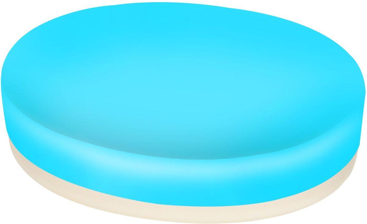Мыльница Proffi Home, цвет: голубой. PH6473AL-005МыльницаProffi Home - аксессуар для хранения брускового мыла. Обладает рядом преимуществ: дно, выполненное из каучука, создает антискользящий эффект - теперь не придется гоняться за мылом в самых неподходящий момент. Керамика, из которой отлито основание мыльницы выгодно отличается от других материалов в первую очередь натуральностью и благородным внешним видом. Этот материал устойчив к перепадам температур, повышенной влажности и бытовым химическим средствам. Благодаря лаконичной форме такой аксессуар отлично впишется в любой интерьер ванной комнаты и станет ее украшением.Материал: керамика, каучук.Страна-изготовитель: Китай. Размеры изделия: 12 х 8,7 х 2.5 см