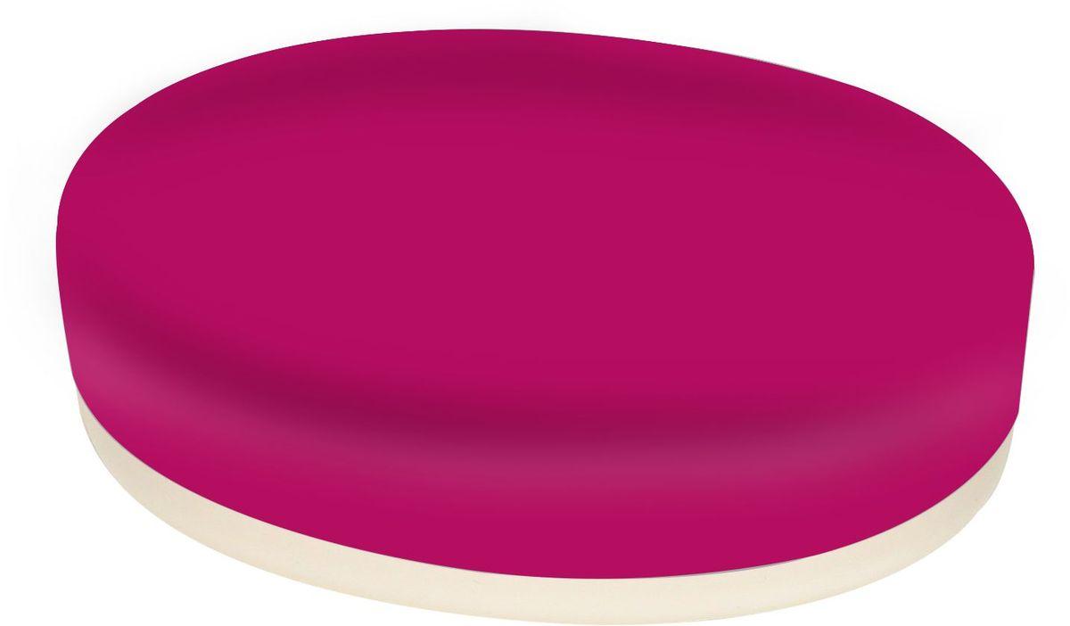 Мыльница Proffi Home, цвет: красный. PH647668/5/4МыльницаProffi Home - аксессуар для хранения брускового мыла. Обладает рядом преимуществ: дно, выполненное из каучука, создает антискользящий эффект - теперь не придется гоняться за мылом в самых неподходящий момент. Керамика, из которой отлито основание мыльницы выгодно отличается от других материалов в первую очередь натуральностью и благородным внешним видом. Этот материал устойчив к перепадам температур, повышенной влажности и бытовым химическим средствам. Благодаря лаконичной форме такой аксессуар отлично впишется в любой интерьер ванной комнаты и станет ее украшением.Материал: керамика, каучук.Страна-изготовитель: Китай. Размеры изделия: 12 х 8,7 х 2.5 см
