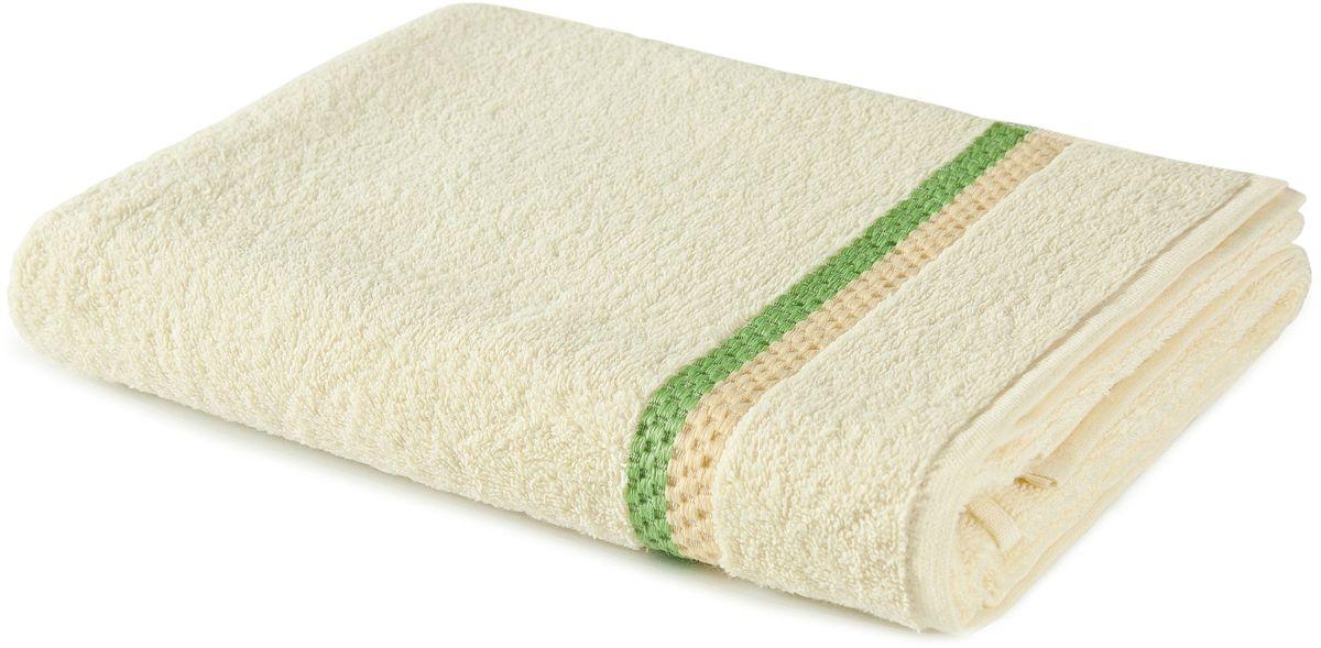 Полотенце Aquarelle Глициния, цвет: ваниль, 50 х 90 см. 702462702462Махровое полотенце Aquarelle Глициния - неотъемлемая часть повседневного быта, оно создает дополнительные акценты в ванной комнате. Продукция производится из высококачественных материалов.Ткань: 100% хлопок.Размер: 50 х 90 см.