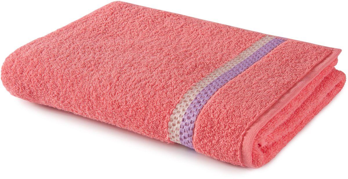 Полотенце Aquarelle Глициния, цвет: коралловый, 70 х 140 см68/5/1Махровое полотенце Aquarelle Глициния - неотъемлемая часть повседневного быта, оно создает дополнительные акценты в ванной комнате. Продукция производится из высококачественных материалов.Ткань: 100% хлопок.Размер: 70 х 140 см.