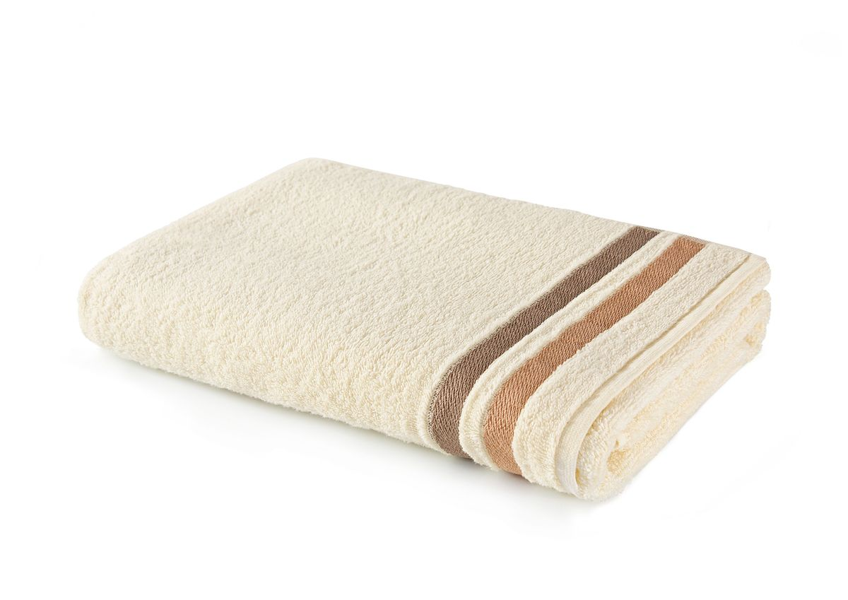 Полотенце Aquarelle Исландия, цвет: ваниль, 70 х 140 см391602Махровое полотенце Aquarelle Исландия - неотъемлемая часть повседневного быта, оно создает дополнительные акценты в ванной комнате. Продукция производится из высококачественных материалов.Ткань: 100% хлопок.Размер: 70 х 140 см.