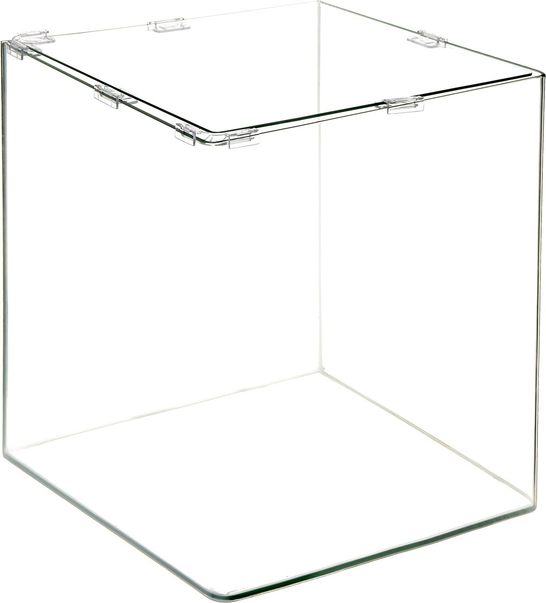 Аквариум Dennerle NanoCube, 60 л34718Аквариум Dennerle NanoCube идеально подходит для содержания небольшого уголка природы в офисе, на столе, на кухне, в ванной комнате, прихожей или гостиной. Аквариум изготовлен из высококачественного стекла, передние углы бесшовные и оснащен покровной крышкой. В комплект входят черная пленка для задней стенки и пластиковые подкладки.