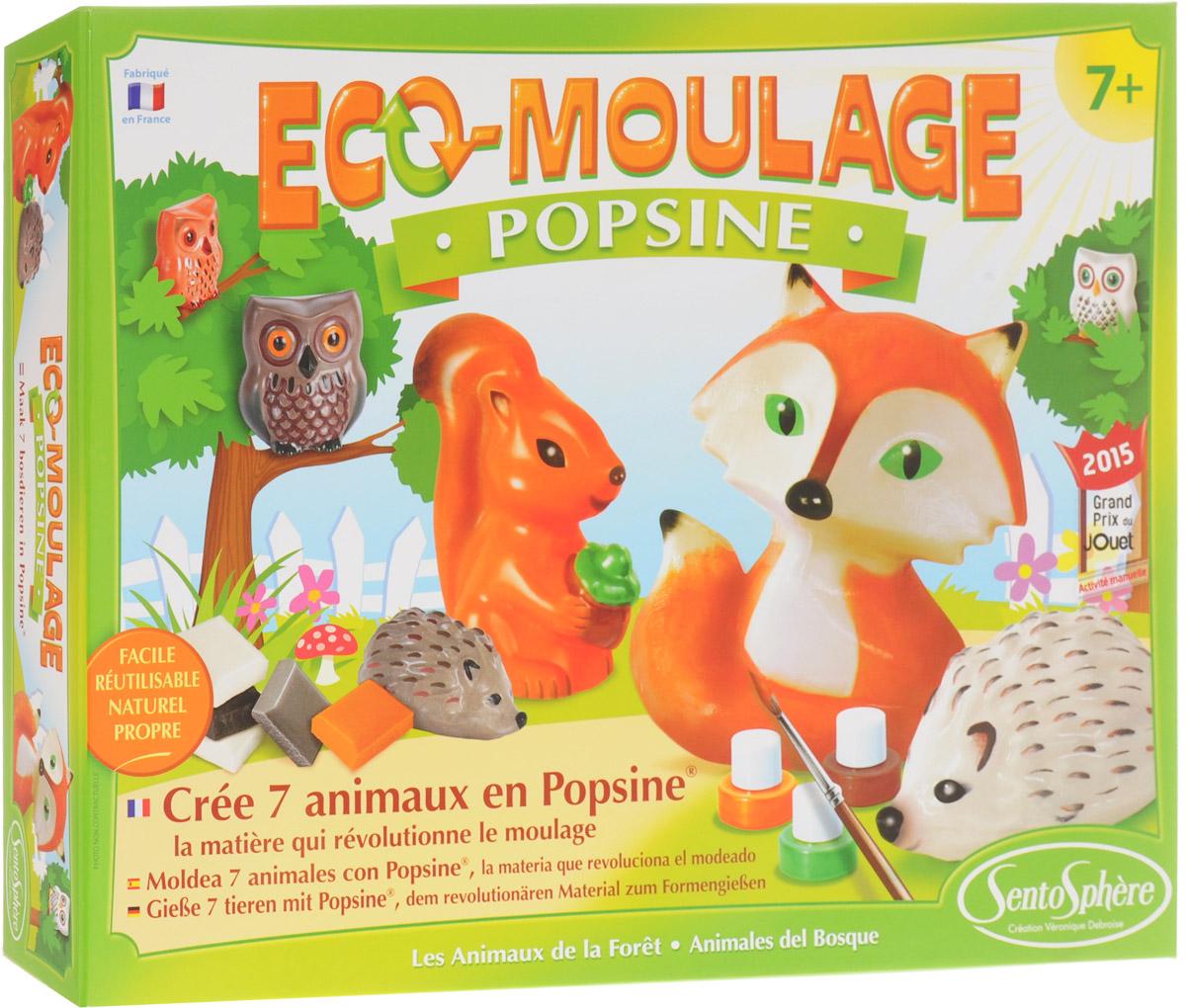 SentoSphere Набор для изготовления игрушек Лесные животные - Игрушки своими руками