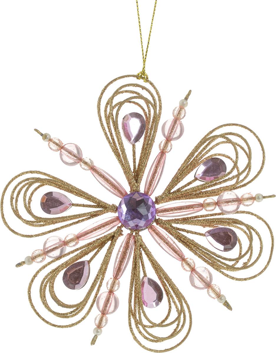 Украшение новогоднее подвесное Erich Krause Снежинка с капельками, диаметр 12 смV1520/1AНовогоднее украшение Erich Krause Снежинка с капельками прекрасно подойдет для праздничного декора новогодней ели. Изделие выполнено из металла в виде снежинки, украшено сверкающими камнями и покрыто блестками. Для удобного размещения на елке предусмотрена текстильная петелька. Елочная игрушка - символ Нового года. Она несет в себе волшебство и красоту праздника. Создайте в своем доме атмосферу веселья и радости, украшая новогоднюю елку нарядными игрушками, которые будут из года в год накапливать теплоту воспоминаний.