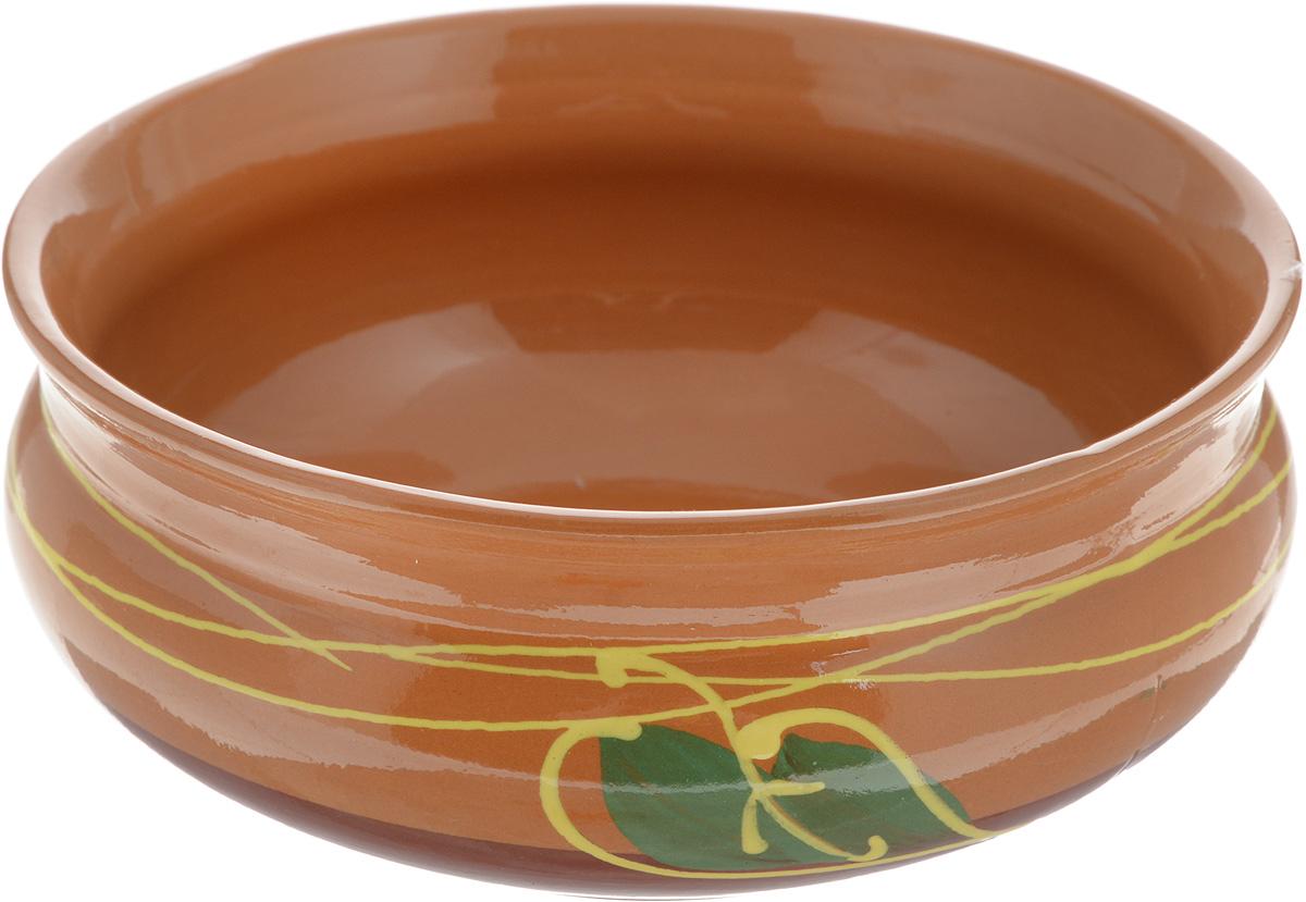 Тарелка глубокая Борисовская керамика Скифская, 800 мл. ОБЧ14457934FS-91909Глубокая тарелка Борисовская керамика Скифская выполнена из керамики. Внешние и внутренние стенки покрыты цветной глазурью. Изделие сочетает в себе изысканный дизайн с максимальной функциональностью. Она прекрасно впишется в интерьер вашей кухни и станет достойным дополнением к кухонному инвентарю. Такая тарелка подчеркнет прекрасный вкус хозяйки и станет отличным подарком. Можно использовать в духовке и микроволновой печи.