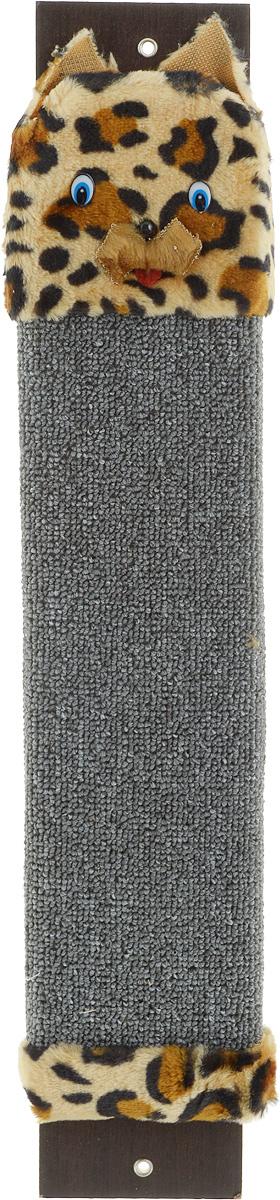 Когтеточка настенная Гамма Кот, с пропиткой, цвет: серый, бежевый, черный, 57 х 11 см0120710Когтеточка Гамма Кот выполнена из оргалита и ковролина в виде доски. Когтеточка предназначена для стачивания когтей вашего питомца. Натуральное волокно изделия обеспечивает естественный уход за когтями кошки, предотвращая их врастание. Специальная пропитка привлекает внимание кошки, что позволяет сохранить мебель и другие предметы интерьера.Установите когтеточку в любом доступном для кошки месте и закрепите ее наиболее подходящим для вас способом.Размер: 57 х 11 см.