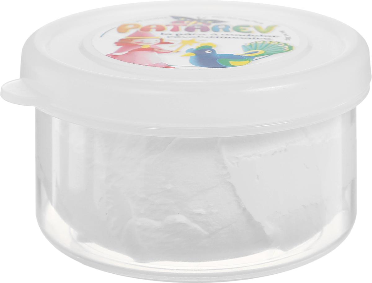 SentoSphere Пластилин Patarev цвет белый72523WDПластилин SentoSphere Patarev хорошо режется фигурными ножницами, с помощью которых можно будет вырезать красивую кайму. Высохнув, пластилин не ломается. Когда пластилин высохнет, его можно раскрасить.Засохший пластилин можно вернуть в исходное состояние, намочив водой.