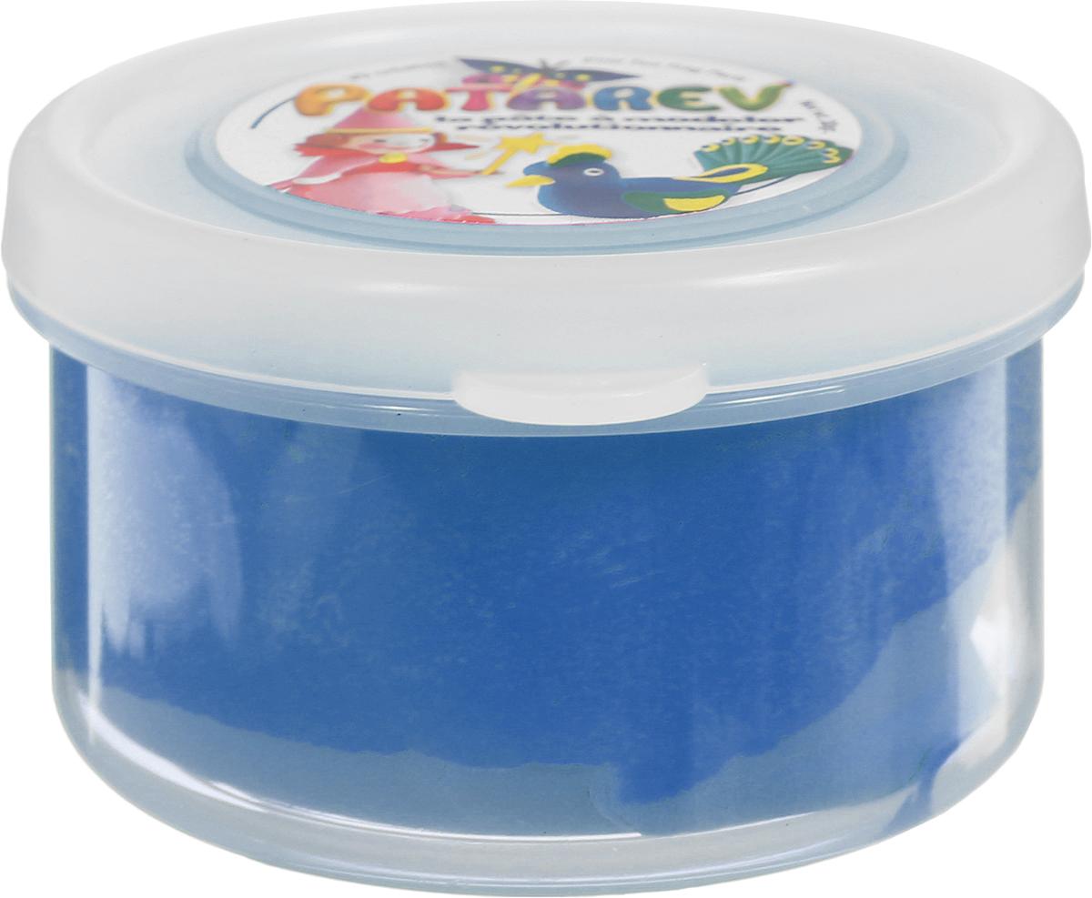 SentoSphere Пластилин Patarev цвет синий29385Пластилин Patarev порадует каждого любителя лепки. Он очень мягкий, легко принимает любую форму и хорошо разрезается. После засыхания пластилина ребенок сможет раскрасить готовую фигурку, воплотив все свои идеи. Для того чтобы снова начать работать с пластилином, достаточно добавить к нему немного воды. Удобная упаковка - банка поможет хранить пластилин даже после использования.