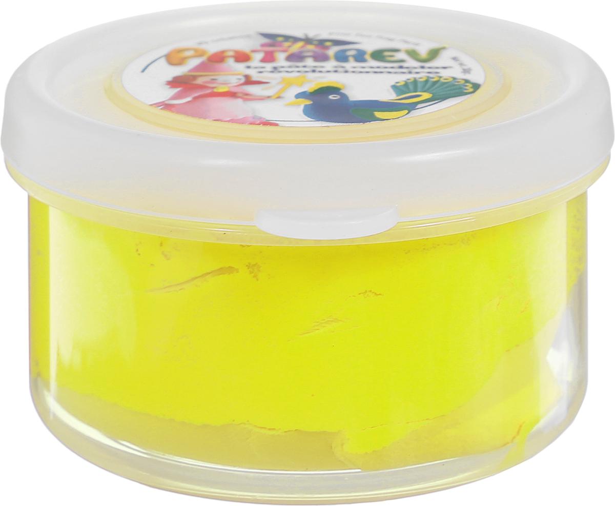 SentoSphere Пластилин Patarev цвет желтый12С 867-08Пластилин SentoSphere Patarev хорошо режется фигурными ножницами, с помощью которых можно будет вырезать красивую кайму. Высохнув, пластилин не ломается. Когда пластилин высохнет, его можно раскрасить.Засохший пластилин можно вернуть в исходное состояние, намочив водой.