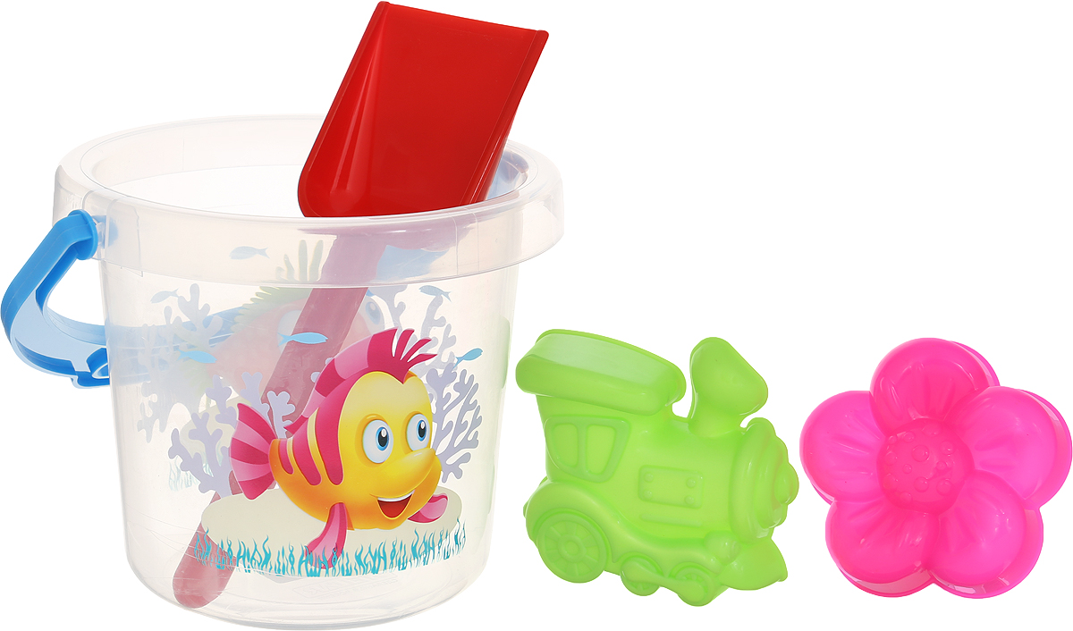 стеллар музыкальные игрушки набор 1 stellar Набор для песка Stellar, №132, 4 предмета цвет прозрачный