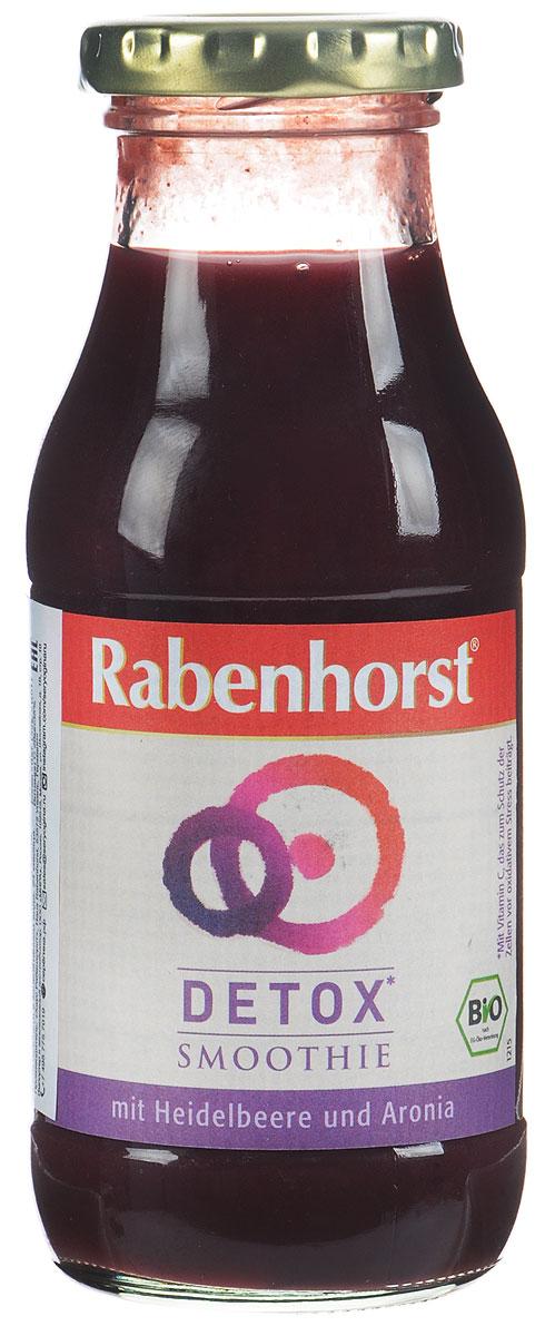 Rabenhorst Детокс смузи с ацеролой, БИО, 240 мл0120710С черникой, аронией и ацеролой - это настоящий детокс! В составе девять фруктов, богатых витамином С. Детокс восполняет 84% дневной потребности витамина С взрослого человека.Уважаемые клиенты! Обращаем ваше внимание, что полный перечень состава продукта представлен на дополнительном изображении.