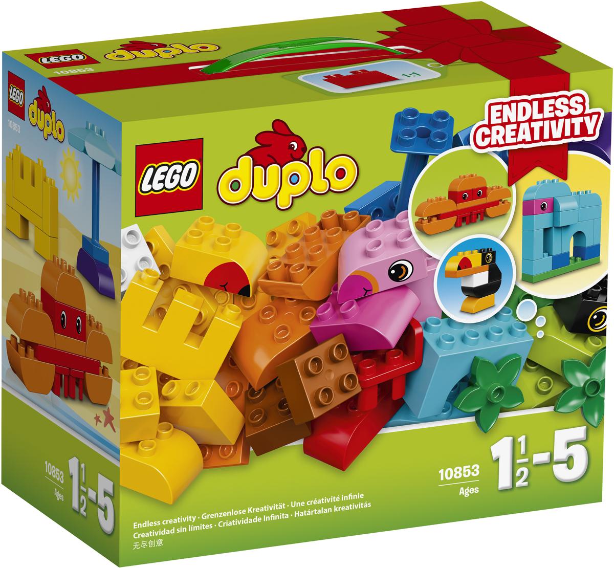 LEGO DUPLO Конструктор Набор деталей для творческого конструирования 10853 lego lego duplo набор деталей для творческого конструирования