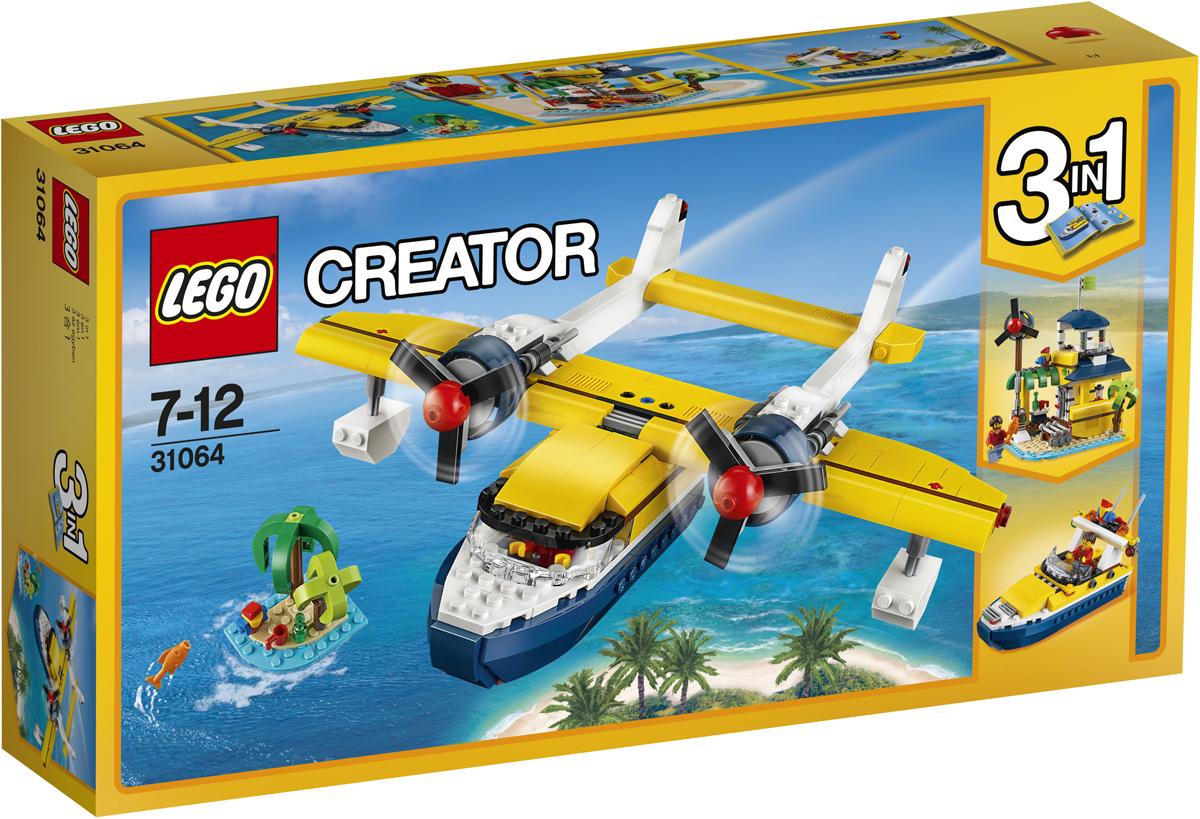 LEGO Creator Конструктор Приключения на островах 31064 lego creator конструктор летающий робот 31034