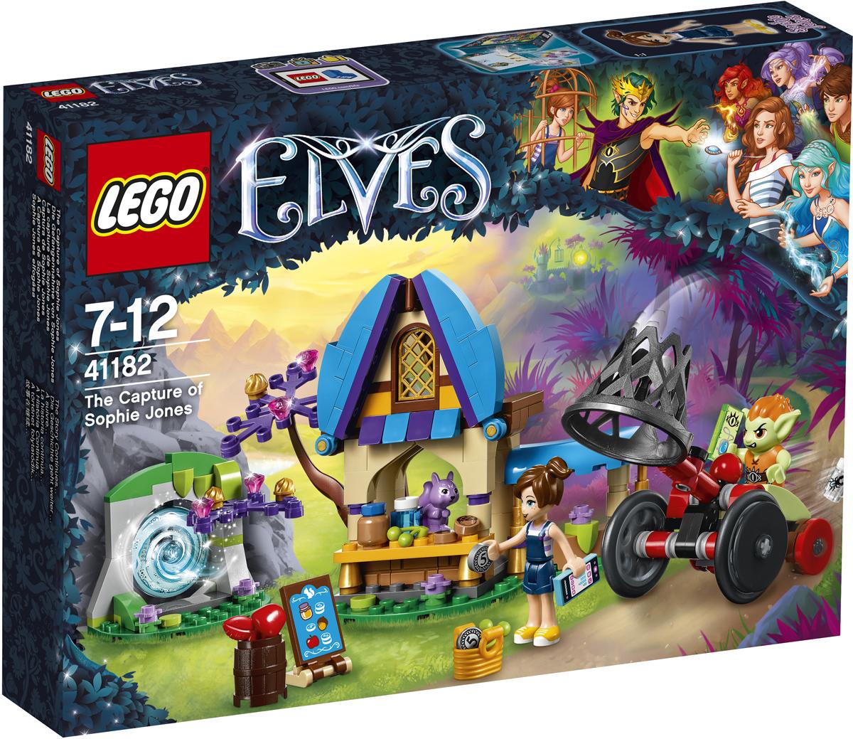 LEGO Elves Конструктор Похищение Софи Джонс 41182 бельчонок софи или осторожно драконы