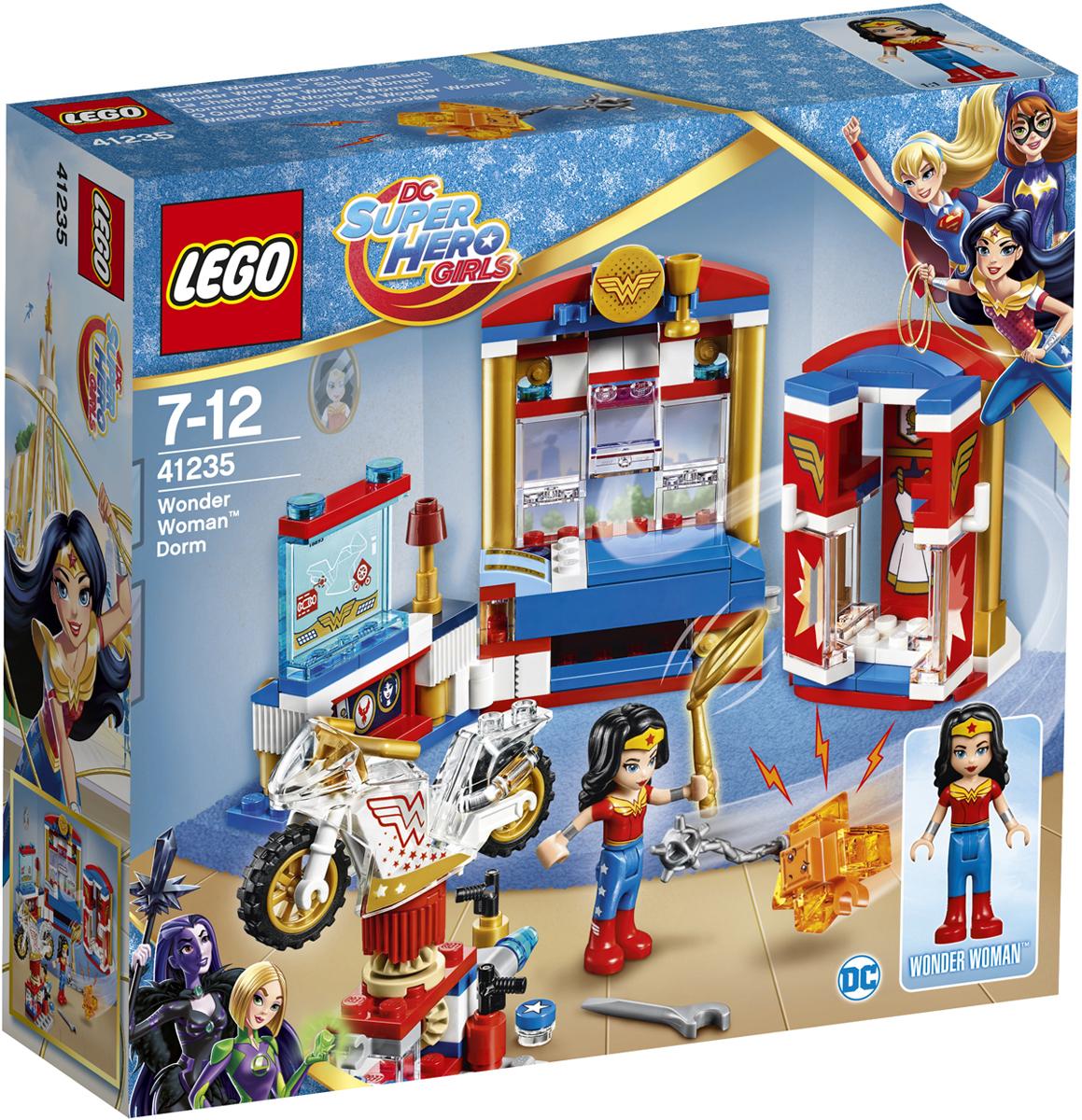 LEGO DC Super Hero Girls Конструктор Дом Чудо-женщины 41235 велосипед navigator super hero girls 18 разноцветный двухколёсный