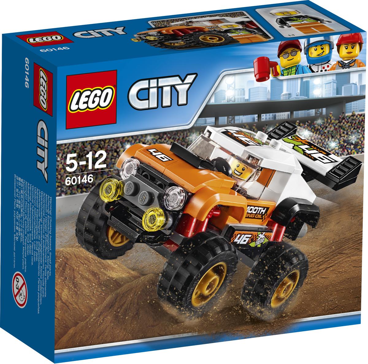 LEGO City Конструктор Внедорожник каскадера 60146 lego city конструктор внедорожник каскадера 60146