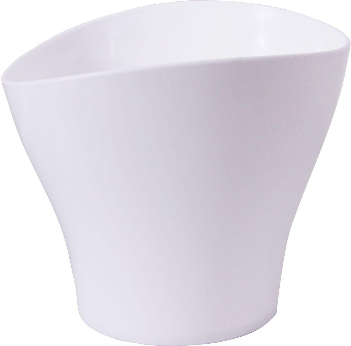 Кашпо Idea Волна, цвет: белый, 800 мл531-102Кашпо Idea Волна изготовлено из прочного полипропилена (пластика) и предназначено для выращивания растений, цветов и трав в домашних условиях. Такое кашпо порадует вас функциональностью, а благодаря лаконичному дизайну впишется в любой интерьер помещения. Объем кашпо: 0,8 л.