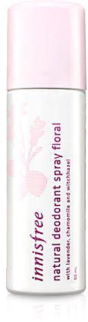 Innisfree Naturel Deodorant Дезодорант-спрей, 50 мл5010777139655Основу дезодоранта-спрея составляют натуральные экстракты, которые защищают кожу от потовыделения на протяжении 24 часов. Также они смягчают и увлажняют кожу, заботятся о ее здоровье, не забивая поры. Не раздражают даже самую нежную кожу, склонную к аллергической реакции.