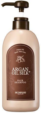 Skinfood Argan Oil Silk Шампунь с аргановым маслом, 500 млMP59.4DВосстанавливающий шампунь деликатно очищает кожу головы и волосы от загрязнений и кожного жира, делая их не только чистыми, но и блестящими, здоровыми и сильными. Шампунь раскрывает природный потенциал волос, обеспечивает сияние и здоровый ухоженный вид, они становятся менее пушистыми, более послушными, блестящими и шелковистыми. Содержит: экстракт и масло арганы, гидрализованный кератин и шелк, экстракт зеленого чая, керамиды и пантенол.
