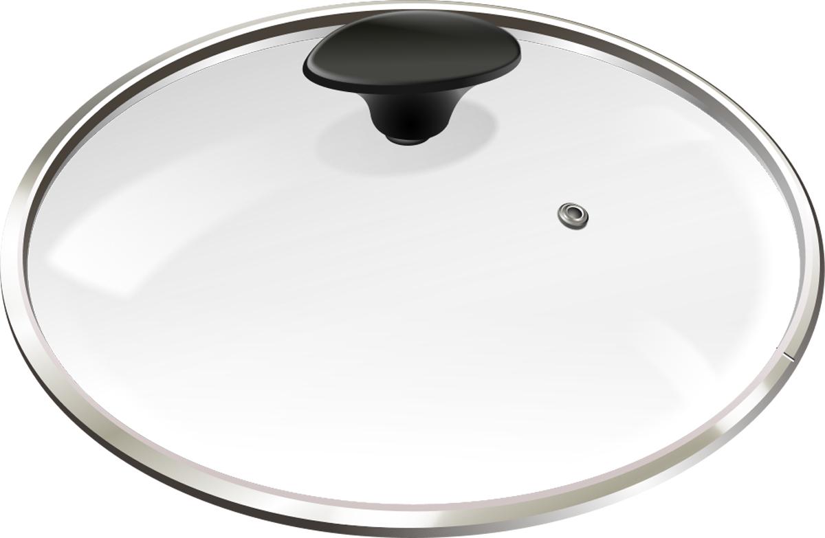 Крышка для посуды Lumme, с паровыпуском, 16 см. LU-GL16115510крышка 16см из жаропрочного стекла с паровыпуском, подходит для кастрюль и сотейников
